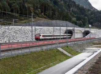 Conoce el túnel ferroviario más largo del mundo