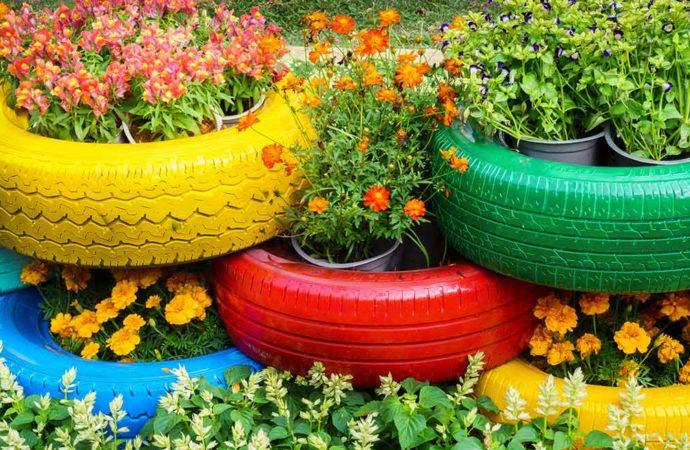 ¡Decora tu jardín de manera ecológica!